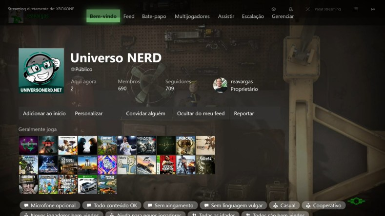 clubes xbox one figura3 - Clubes No Xbox E PC Com Windows 10