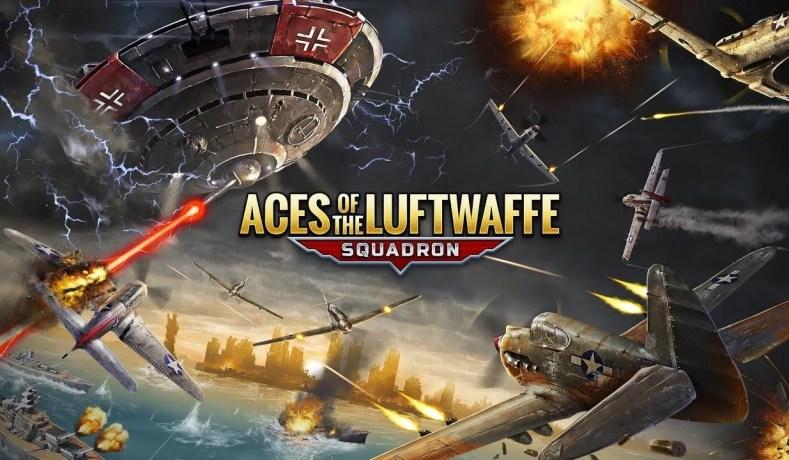 Aces Of The Luftwaffe Squadron – Guerra Aérea Em Companhia