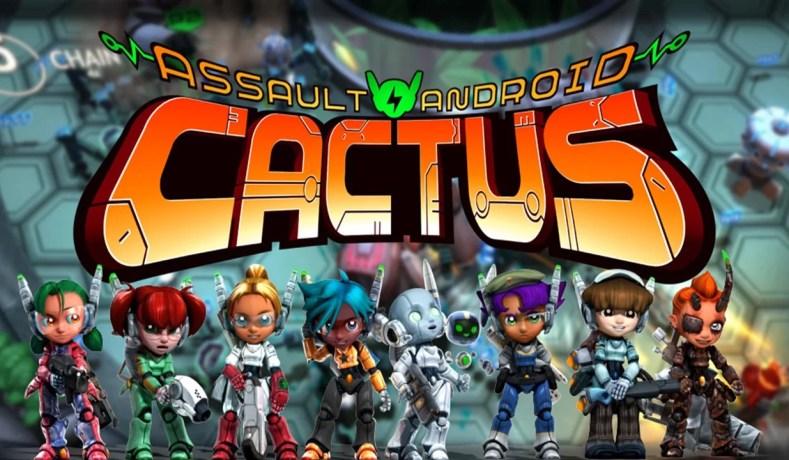 Assault Android Cactus + Para Nintendo Switch