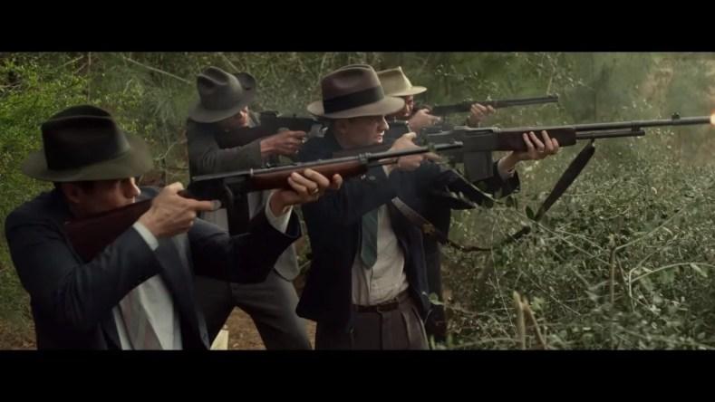 metralhando 01 1024x576 - Bonnie e Clyde: Vida Bandida