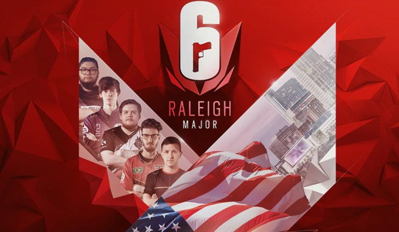Rainbow Six Siege: Major de Raleigh – 2019