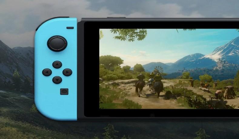 The Witcher 3 No Nintendo Switch