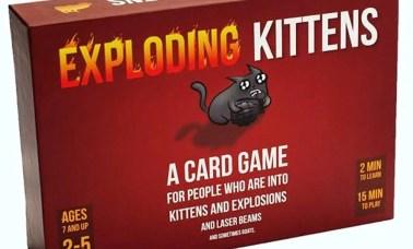 Exploding Kittens Card Game CAPA - Os melhores jogos de tabuleiro em família, segundo especialistas internacionais (Parte 1)