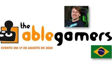 AbleGamers BR CAPA UniversoNERD - AbleGamersBR: Conheça A Ação E O Evento De Gameplays Com Streamers e YouTubers