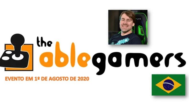 AbleGamersBR: Conheça A Ação E O Evento De Gameplays Com Streamers e YouTubers