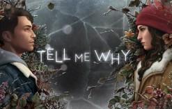 Tell Me Why CAPA - Tell Me Why: Uma Narrativa Moderna Com Bastante Mistério E Investigação