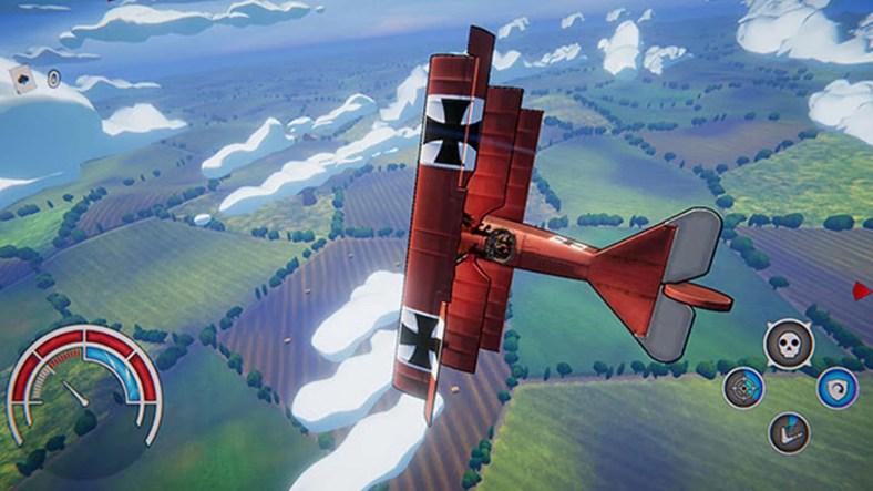 Red Wings Aces of the Sky 2 - Red Wings: Aces of the Sky Resgata As Primeiras Batalhas Aéreas de Forma Divertida