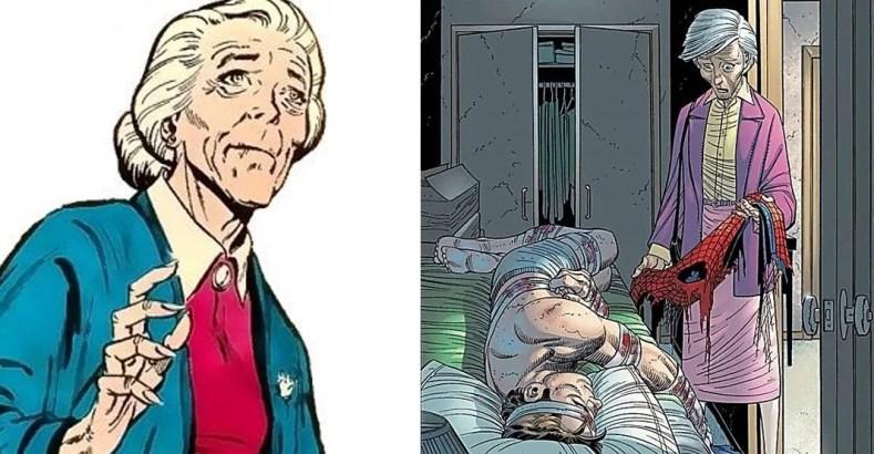 Aunt May 2 Imagens - Mamães Que Merecem Destaque Nos Quadrinhos
