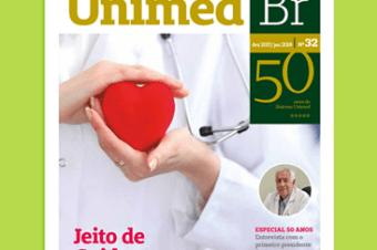 A última edição da Revista Unimed fala sobre os 50 anos do Sistema Unimed, cuidados e muito mais!
