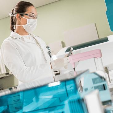 Serviços próprios Unimed: Laboratório de Análises Clínicas