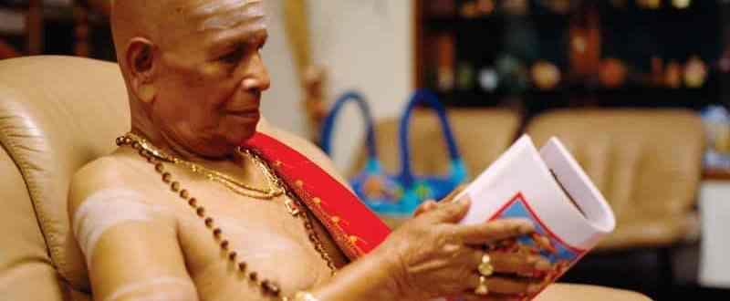 Sri K Pattabhi Jois murió hoy a los 94