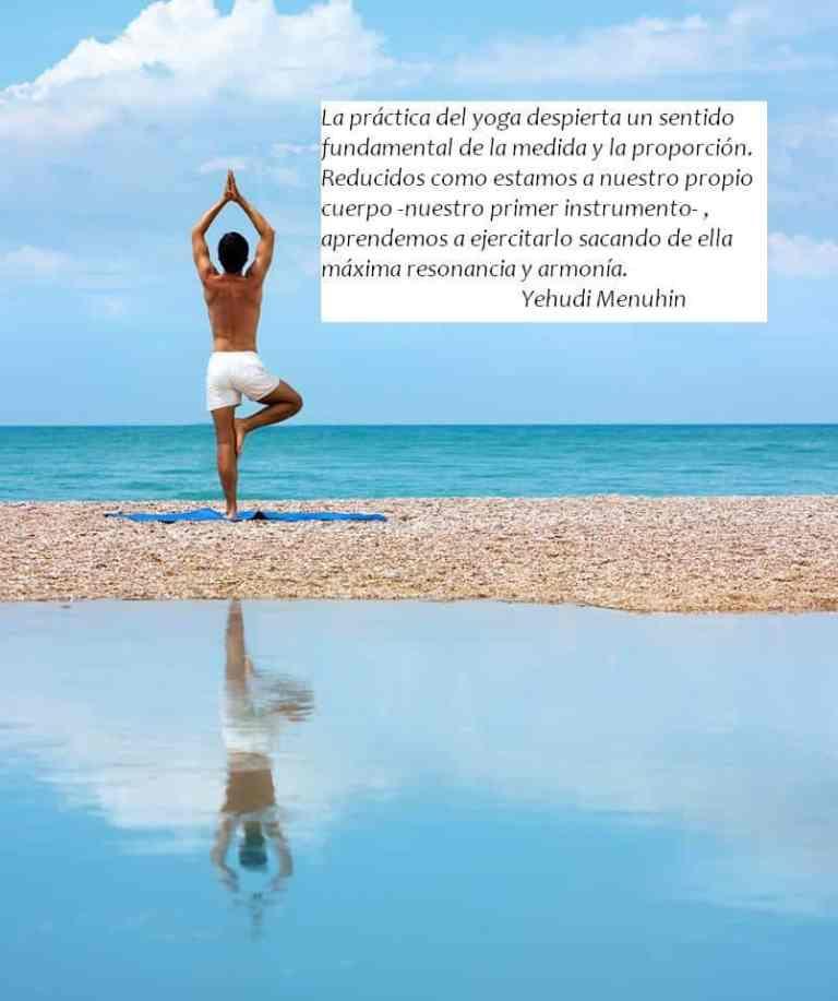 Definición del yoga de Yehuedi Menuhin