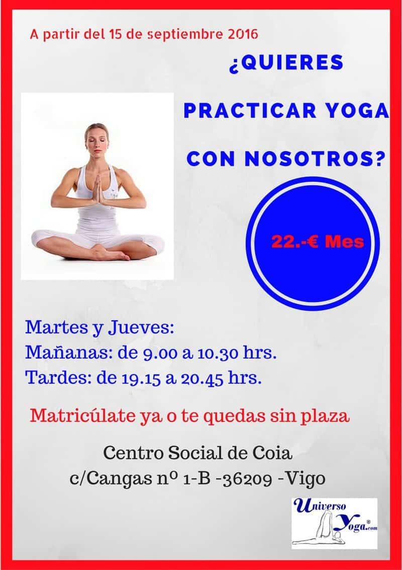 ¿Cómo se desarrolla una clase de Hatha yoga?