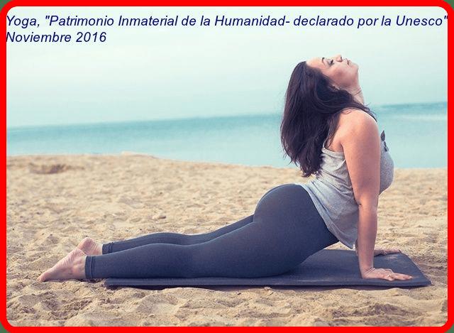 Yoga patrimonio inmaterial de la Humanidad por la Unesco
