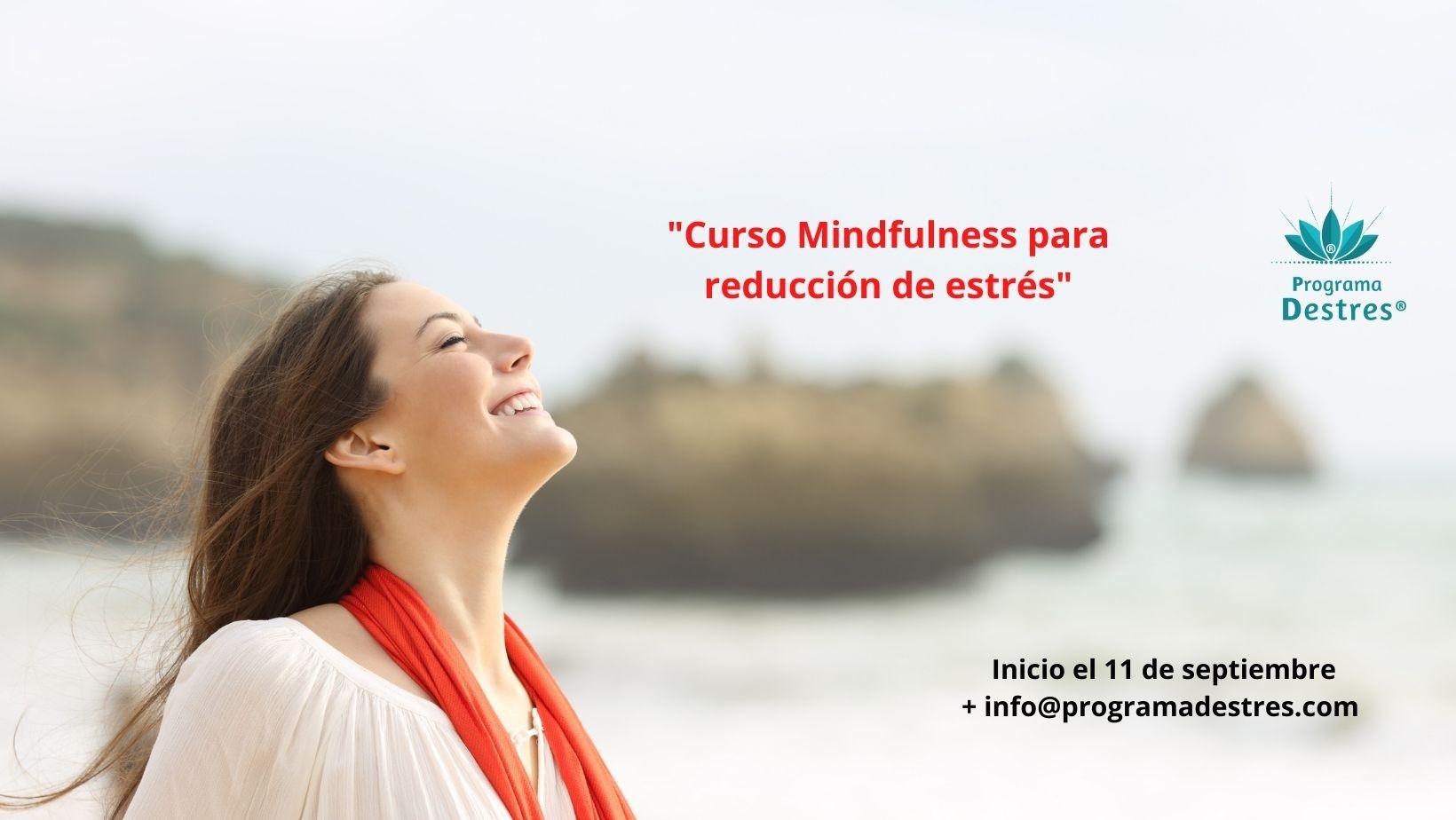 Curso Mindfulness para reducción de estrés - Mira toda la información haciendo click