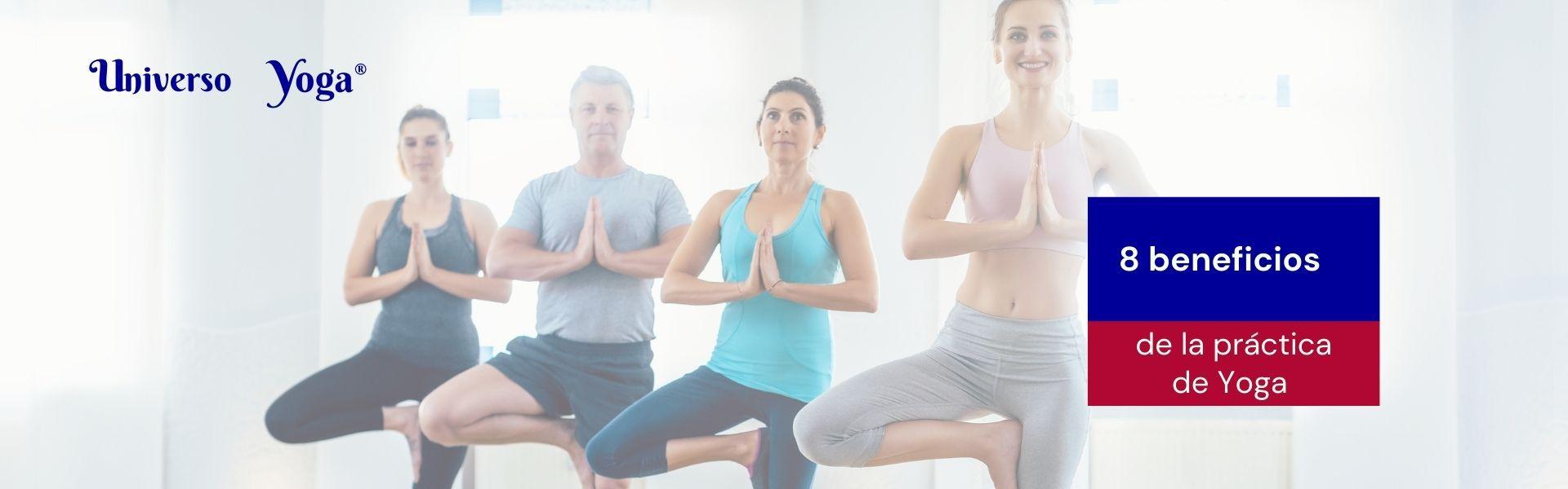 8 beneficios del yoga