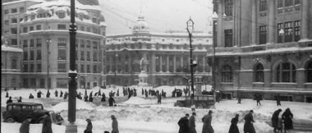 Iarnă în Bucureștiul interbelic 3