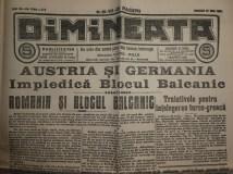 Ziarul Dimineata ; Director C - tin Mille , 27 Iulie 1914 ; 3