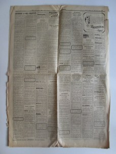 Ziarul Universul(doar 4 pagini) din 22-6-1938,cu funeraliile Reginei Maria 7