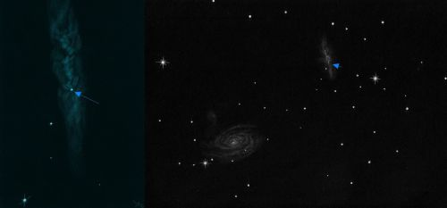 SN 2014J in Messier 82, Comparison with previous observation - Dr. Johannes Schilling, Lonsee