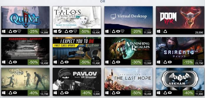 Top Steam VR 2017 Or