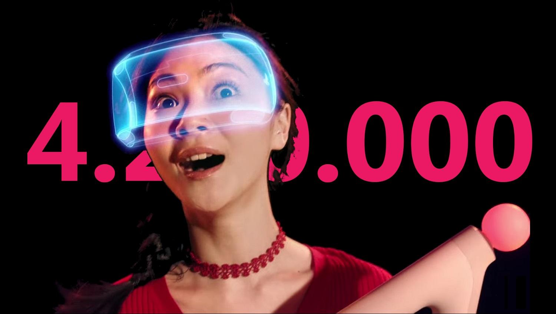 4 millions de PSVR