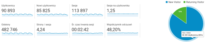 Google Analytics: Odbiorcy