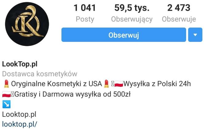 Looktop.pl profilowe przykład