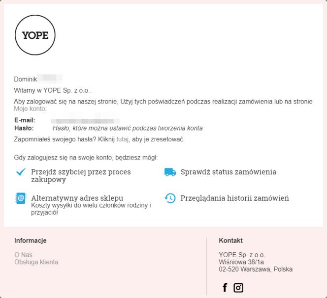 mail transakcyjny yope