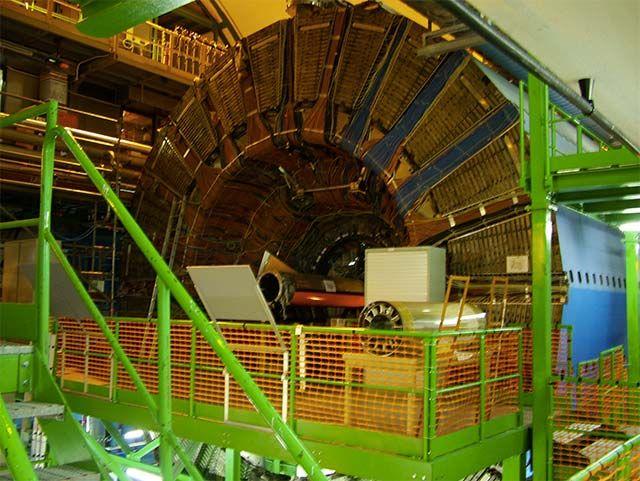 Linux runs hadron collider