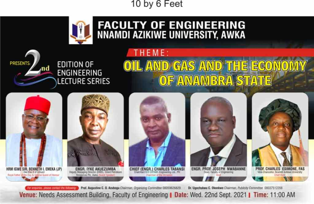 Oil and Gas the Economy of Anambra State