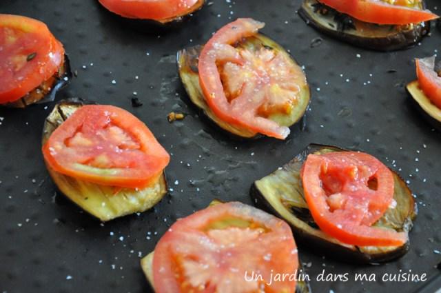aubergines et tomates grillées  un jardin dans ma cuisine