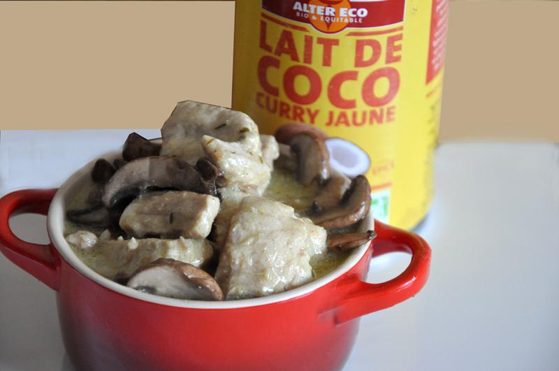 rouelle de porc au lait de coco