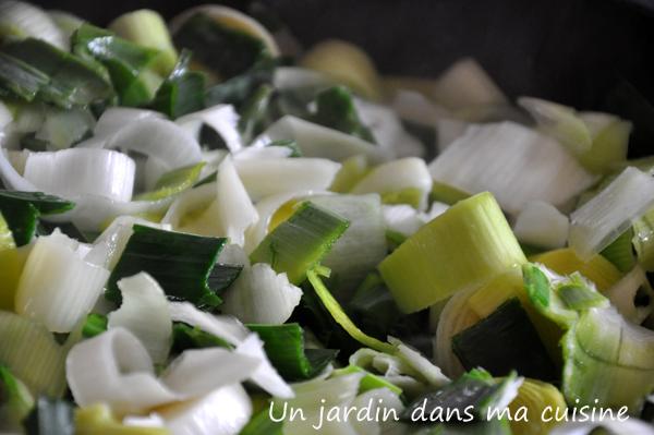 tarte aux poireaux un jardin dans ma cuisine