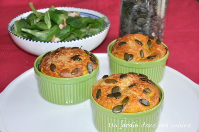 soufflé courge carotte fromage