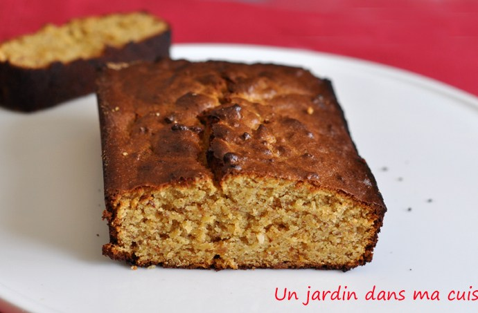 cake confit de bergamote sans beurre ni farine