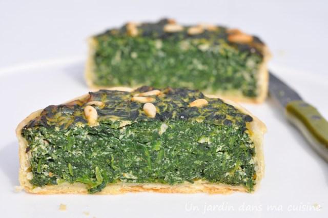 tarte épinards ricotta