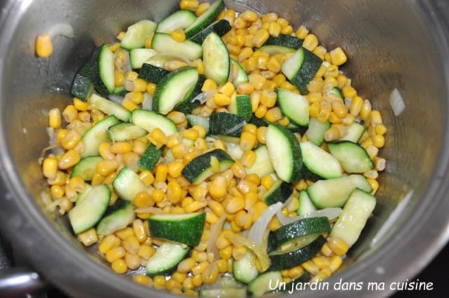 velouté de maïs