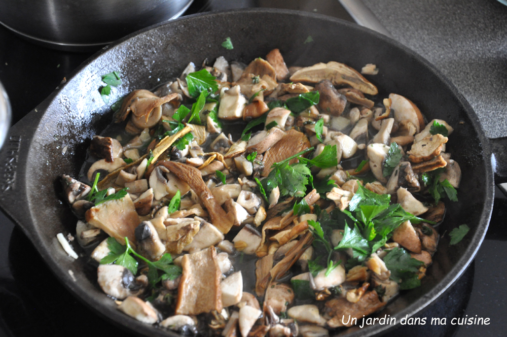 risotto aux champignons
