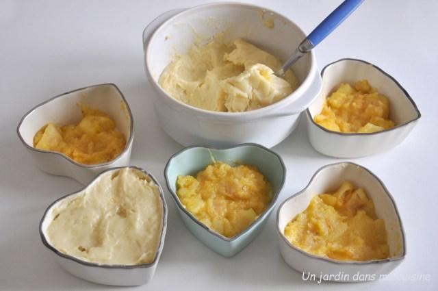 lit de pommes parfum agrumes et crème