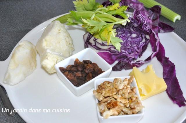 Salade chouchou gourmande aux deux choux