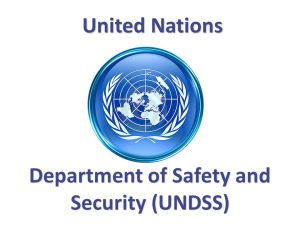UN Job in New York, Programme Officer, P3, DSS-119245