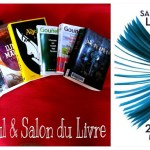 Mon planning pour le Salon du Livre de Paris 2013