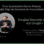 Interview de Douglas Kennedy (Cinq jours ; Belfond) via Google Hangouts : une première en Europe.