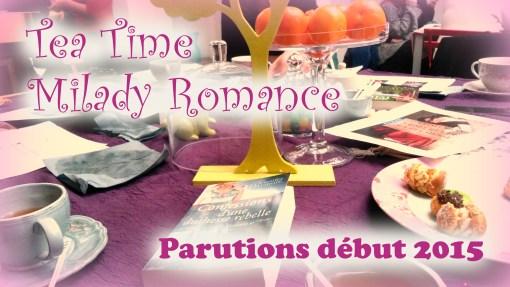 MissMymooReads - Tea Time Milady Romance début 2015 cover