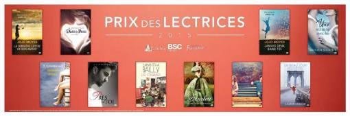 Prix des Lectrices nominés