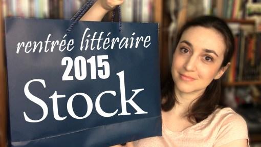 MissMymooReads - Rentrée littéraire 2015 Stock cover