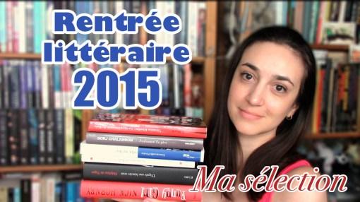 MissMymooReads - Rentrée littéraire 2015 cover