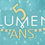 Les éditions Lumen soufflent leur 5e bougie !