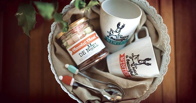 DIY Cadeau Nol Panier Gourmand
